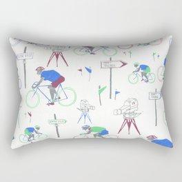 Race Riding  Rectangular Pillow