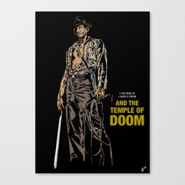 Indiana Jones: And the Temple of Doom Canvas Print