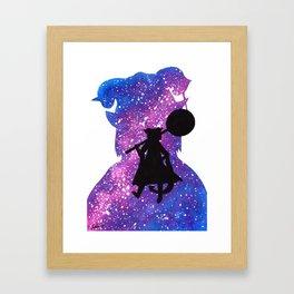 Cosmic Jester Framed Art Print