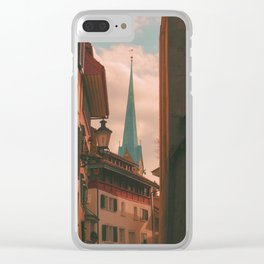 Munster Clear iPhone Case