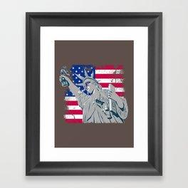 freedom... Framed Art Print