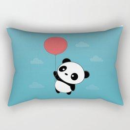 Kawaii Cute Panda Flying Rectangular Pillow