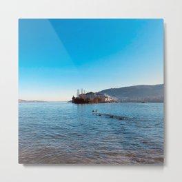 Italian island, Borromeo islands, italian lakes, lake fine art, fisherman's island Metal Print