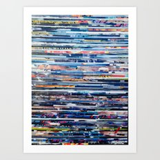 STRIPES 25 Art Print