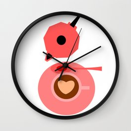 Coffee break Wall Clock