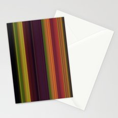 Fall stripes 1  Stationery Cards