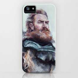 We are kissed by fire. iPhone Case