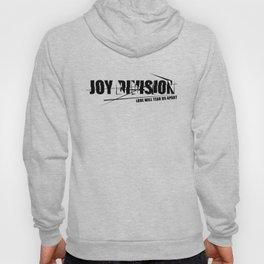 Rock graphic art - 80s alternative band - JOY DIVISION Hoody
