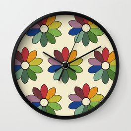 Flower pattern based on James Ward's Chromatic Circle Wall Clock