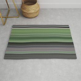 Olive green and grey Rug