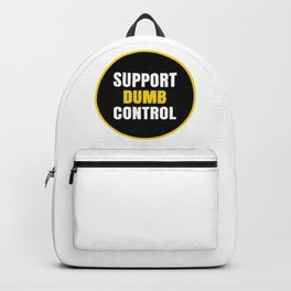 support dumb control Backpack