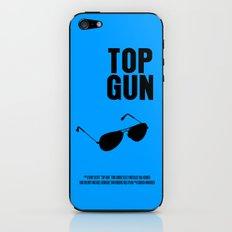 Top Gun Movie Poster iPhone & iPod Skin