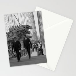 Old Time Godzilla vs. King Kong Stationery Cards
