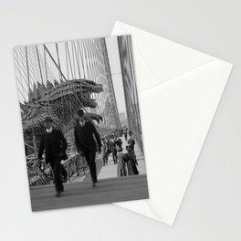 Old Time Godzilla vs. King Kong Stationery Cards