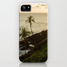 Sri Lankan golden hour iPhone Case