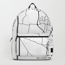 Geelong Light City Map Backpack