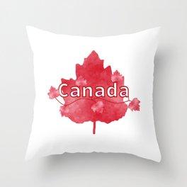 Canada Proud Throw Pillow