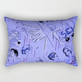 Lady Love Rectangular Pillow