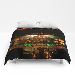 Airliner Flight Deck Comforters