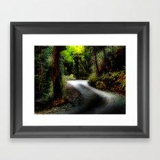 magic land Framed Art Print