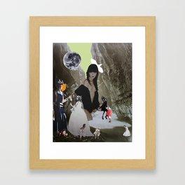 Dance Club Framed Art Print