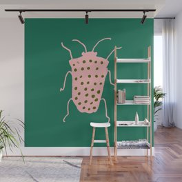 Beetle green Wall Mural