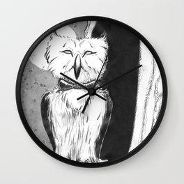 Met at the Door Wall Clock