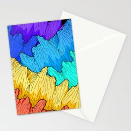 Rainbow Mounts Stationery Cards