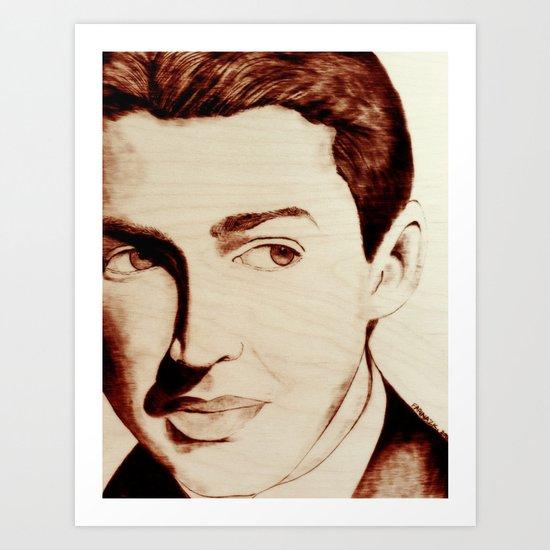 "James ""Jimmy"" Stewart Art Print"