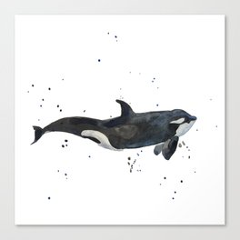 Oh Whale Canvas Print