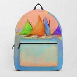 Rainbow Fleet Backpack