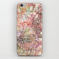 mexico iPhone & iPod Skins featuring Mexico by MapMapMaps.Watercolors