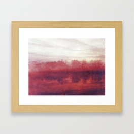 Lake #1 Framed Art Print