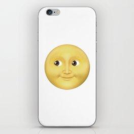 The Whatsapp full moon iPhone Skin
