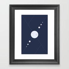Stellar Symmetry Framed Art Print