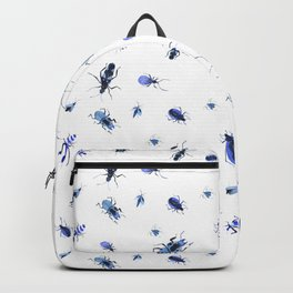 Blue bugs Backpack