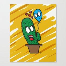 Spiky love Canvas Print