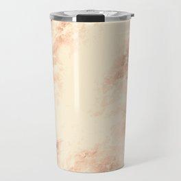 Bronze marble texture Travel Mug
