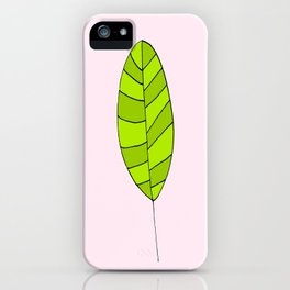 lonely leaf - iPhone Case
