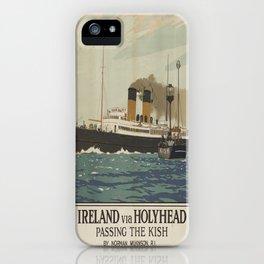 Vintage poster - Ireland iPhone Case