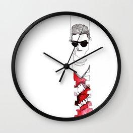 Stomach Growl Wall Clock
