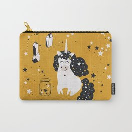 Stellar Unicorn with Stars in a Jar Carry-All Pouch
