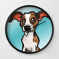 Miso (Beagle) Wall Clock