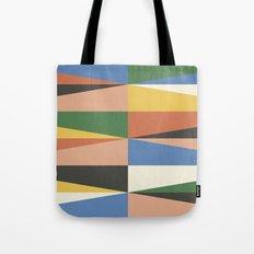 Triangle Waves Tote Bag