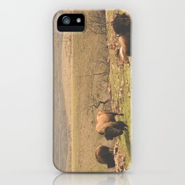 Grazing iPhone Case
