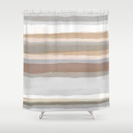 Strips 5 Shower Curtain
