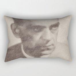 Boris Karloff by JS Rectangular Pillow