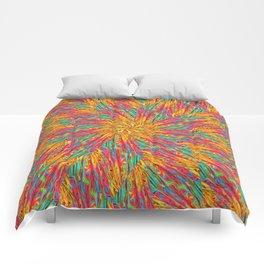 Psychedelic Seashell Comforters