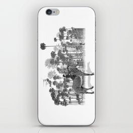 Thrill of the Chase iPhone Skin