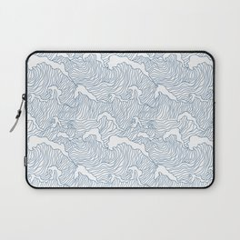 Japanese Wave Laptop Sleeve